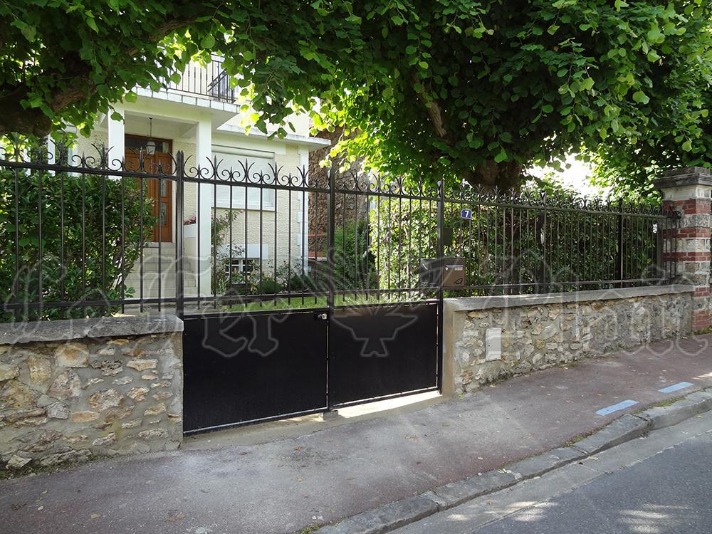 Le Fer Plait ferronnier à eaubonne dans la val D'oise 95 Clôture pour séparer la rue ou un voisin de notre espace de vie privée.